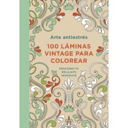 100 Láminas vintage para colorear