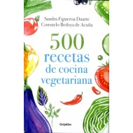 500 Recetas de cocina vegetariana