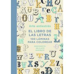 Arte antiestrés El libro de las letras