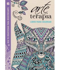 Arte terapia libro para colorear