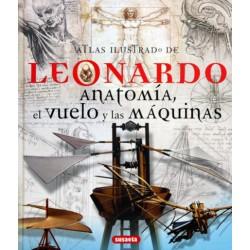 Atlas ilustrado de Anatomía, el vuelo y las máquinas
