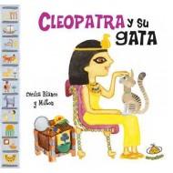 Cleopatra y su gata