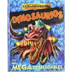 Extraño y salvaje dinosaurios
