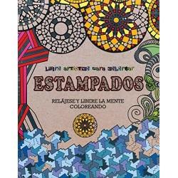 Libro artistico para colorear Estampados