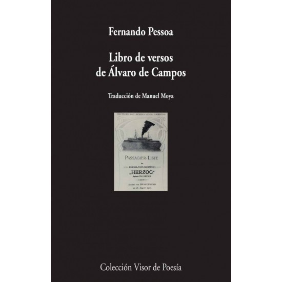 Libro de versos de Álvaro de Campos