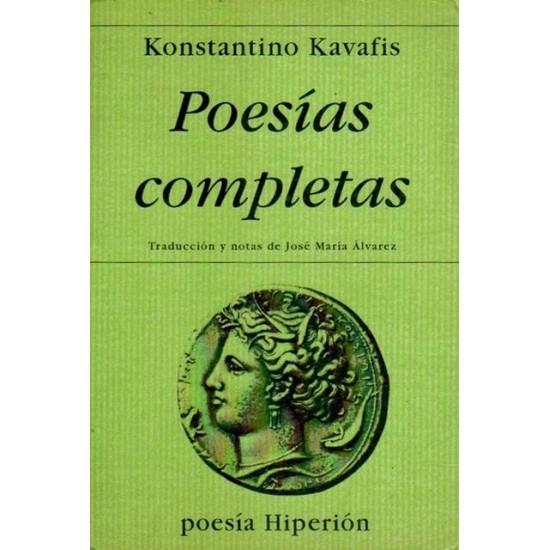 Poesías completas - Konstantino Kavafis