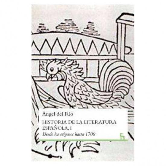 Historia de la literatura Española, I