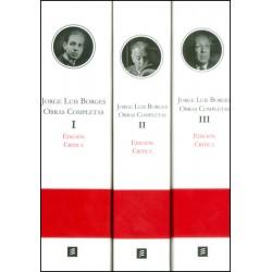 Edición Critica obras completas - 3 Tomos
